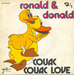 Le verso de la pochette : (Ronald and Donald - Duck soup)