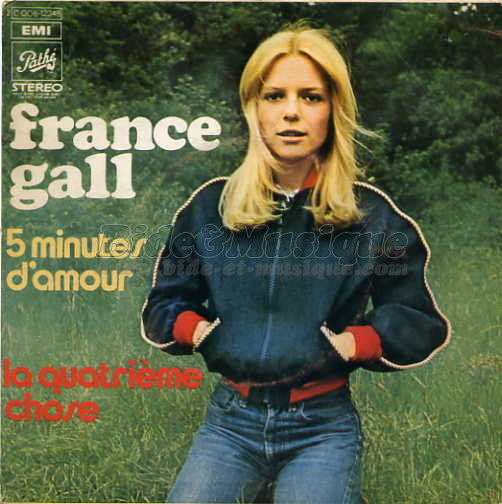 France Gall - 5 minutes d'amour