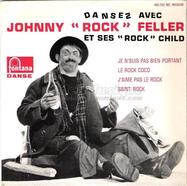 "Johnny ""Rock"" Feller - J'aime pas le rock"