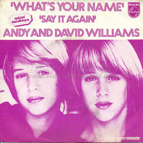 Andy and David Williams - Say it again
