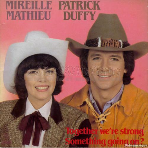 Mireille Mathieu et Patrick Duffy - Together we're strong