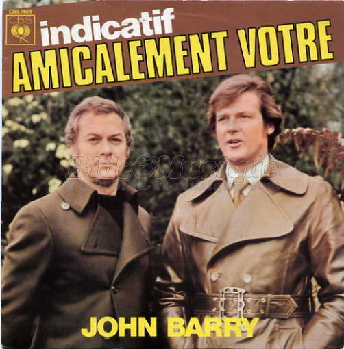 John Barry - Amicalement vôtre