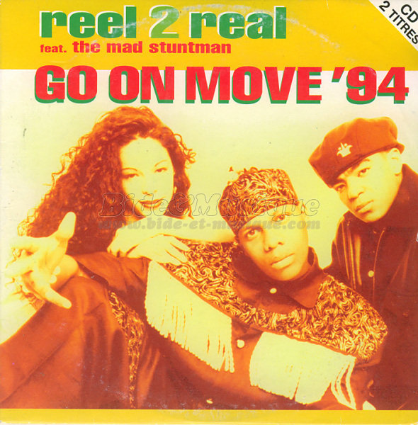 Reel 2 Real featuring the Mad Stuntman - Go on move '94