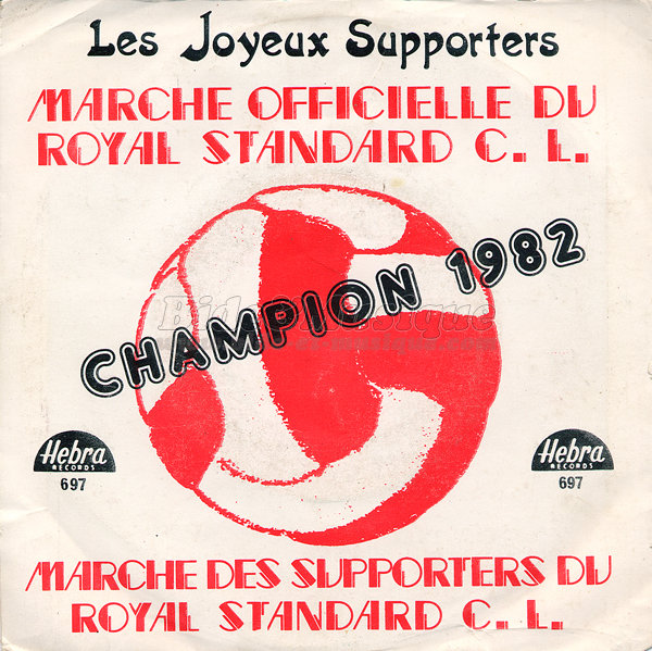 Les joyeux supporters - Marche officielle du Royal Standard C L