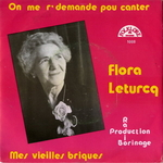 Flora Leturcq - On me r'demande pou canter
