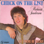 Richard Sanderson - Check on the list