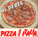 Pochette de Al Derek - Pizza from Italia